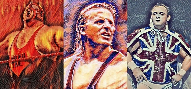 Vader, Owen Hart and the Dynamite Kid are amongst the greatest ever