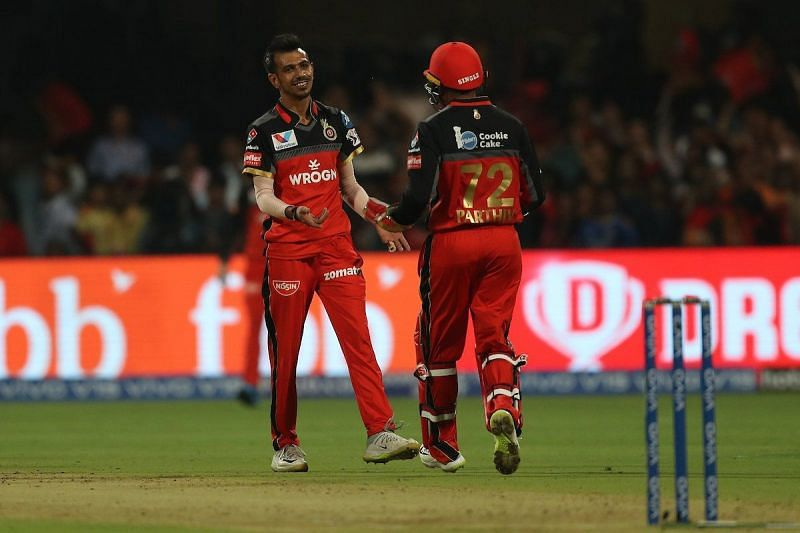 Chahal took 4 Wickets yesterday.