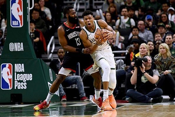 Harden and Giannis have been in great form this season