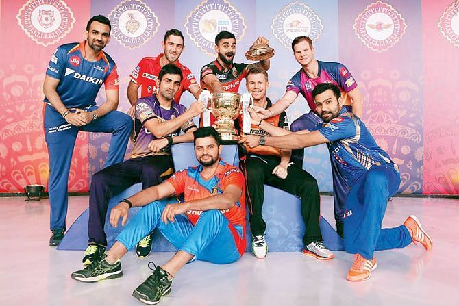 Ipl Series All Team