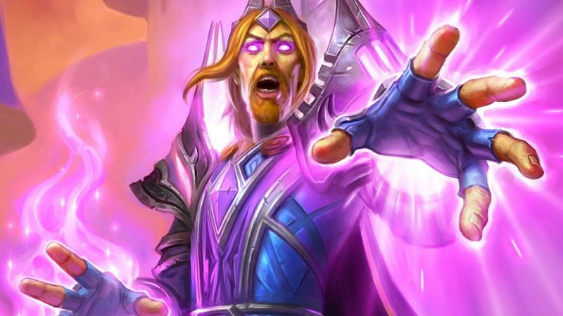 Image result for archmage vargoth hearthstone