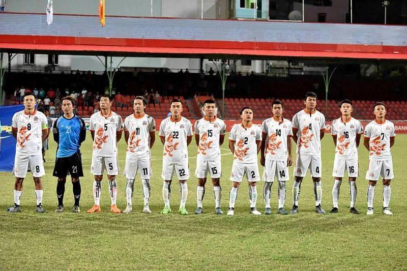 The Bhutanese National Football Team