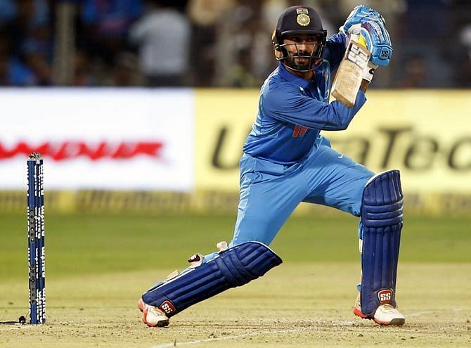 Dinesh Karthik will provide the option of a finisher and a backup wicket-keepe