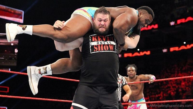 Who would be in the New Day, Big E or Big O?