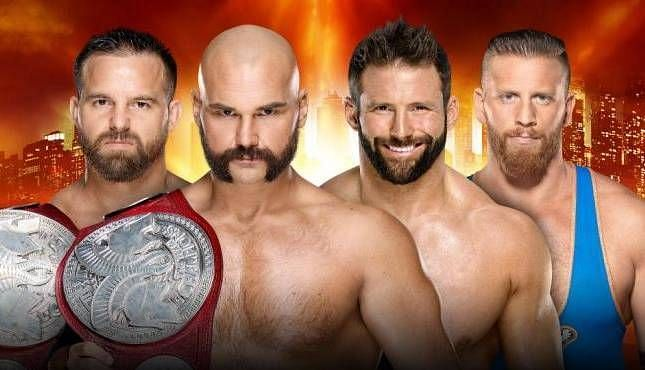 Zack ryder team wins the championship
