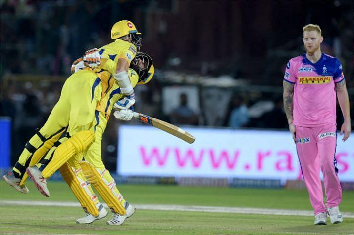 Chennai won the last ball finish ( Image Courtesy: BCCI/IPLT20.com )