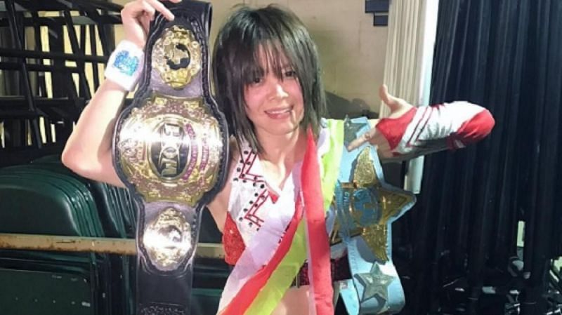 She is easily the best high-flying female outside of the WWE