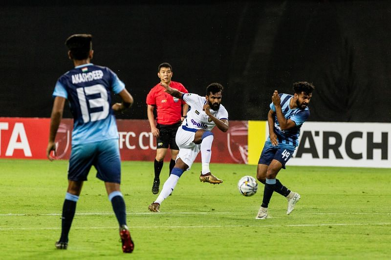 Chennaiyin FC and Minerva Punjab played out a goalless draw in their opening game of the AFC Cup