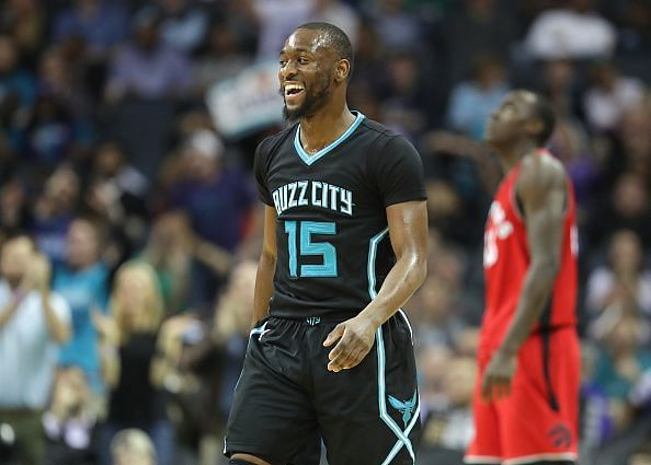 The Charlotte Hornets, a team with an outside shot at a playoff spot, knocked off the Eastern Conference's second-best team the Toronto Raptors 113-111