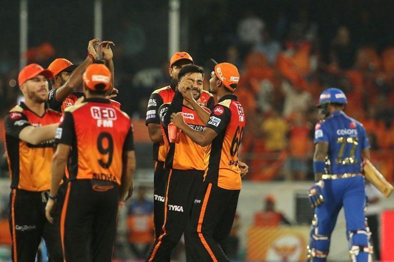 Sunrisers Hyderabad (Source - iplt20/BCCI)