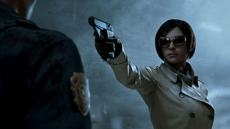 Ada Wong in RE 2 remake