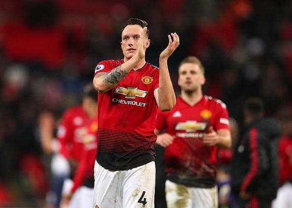 Jones has been a bit of a liability for United in recent months