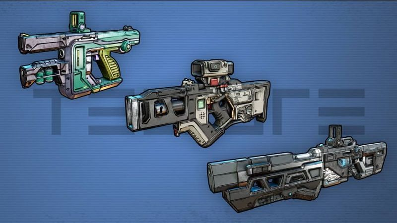 Borderlands 3 Gun Manufacturer: Tediore