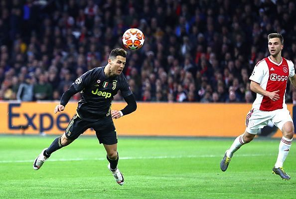 Ajax v Juventus - UEFA Champions League Quarter Final: First Leg