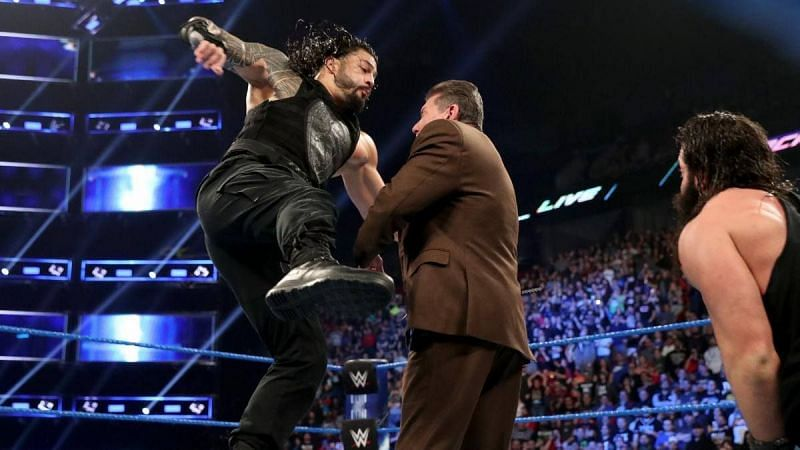 Why did the Big Dog viciously attack the big boss?
