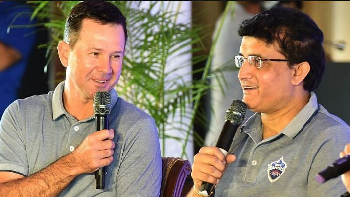 Ricky Pointing and Sourav Ganguly