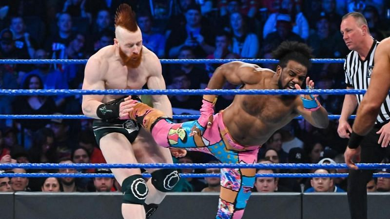 The New Day faced off against The Bar and RAW