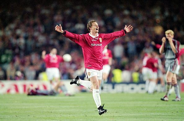Ole Gunnar Solskjaer 1999 UEFA Champions League Final