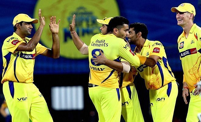 Chennai Super Kings - Image Courtesy: (BCCI/IPLT20.com)