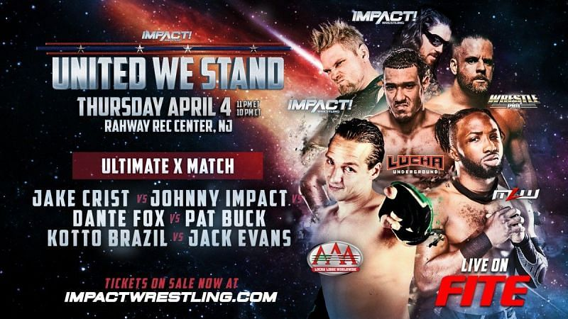The #1 Contender's Match for the X-Division Title