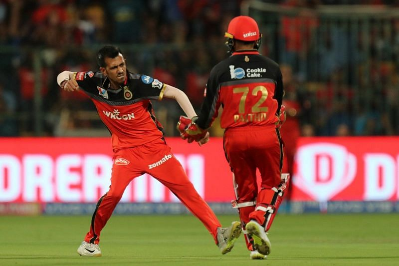Chahal picks 2 crucial wickets