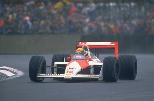 Ayrton Senna took a big step towards his first driver