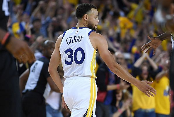 Curry looks as though he will play a major role in the Warriors