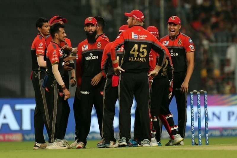 RCB will be high on morale after their win over KKR