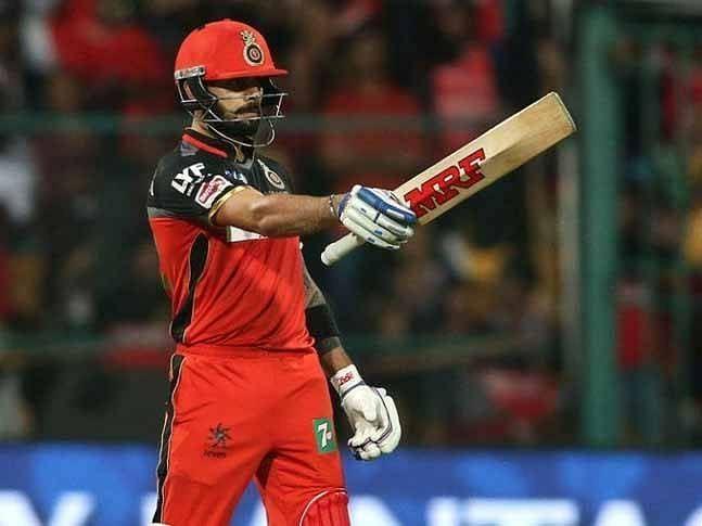 Virat Kohli scored 67 runs