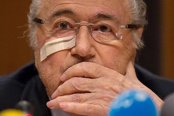 Sepp Blatter, the disgraced erstwhile head of FIFA
