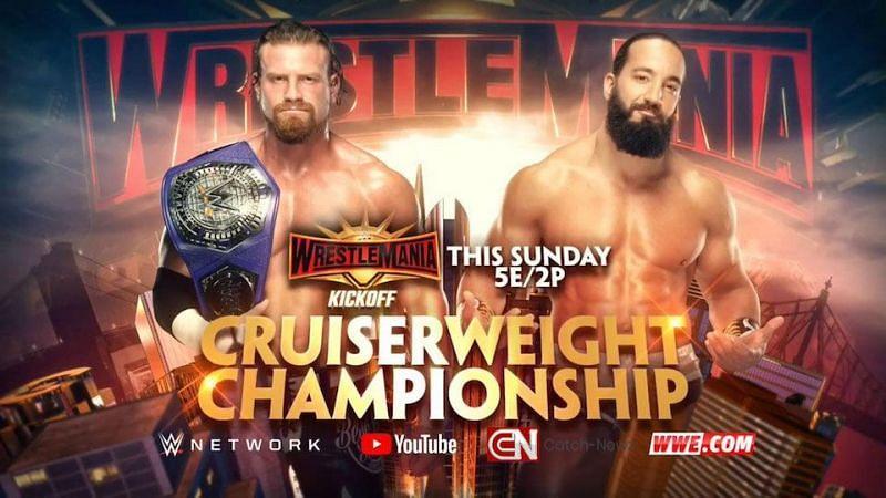 WWE Cruiserweight championship WWE women's battle royal Kurt Angle defeated by baron