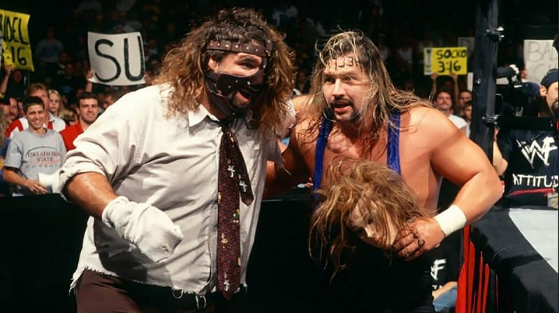 Al Snow and Mankind have a storied history!