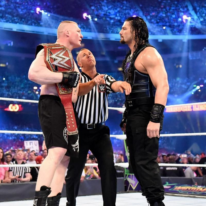 The main event of Wrestlemania 34
