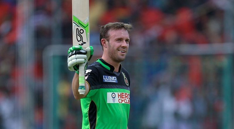 De Villiers is one man who can make unorthodox batting look beautiful (source:iplt20.com)