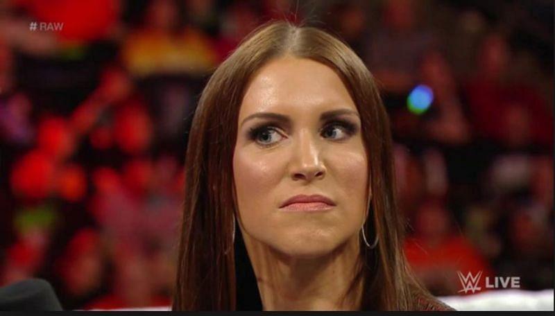 When will Stephanie McMahon wrestle again?