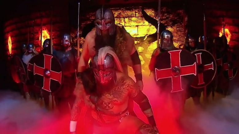 War Raiders Make Their Entrance At NXT TakeOver: New York