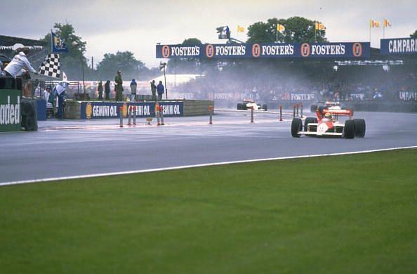 Ayrton Senna was untouchable in wet conditions