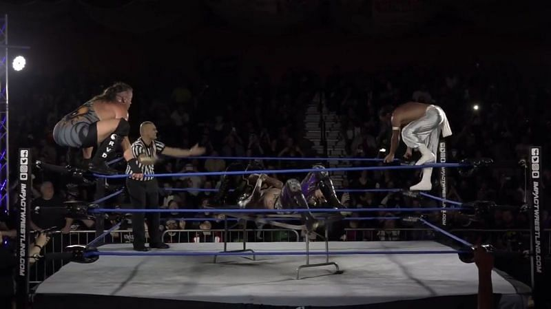 Rob Van Dam was in the main event of Impact Wrestling: United We Stand