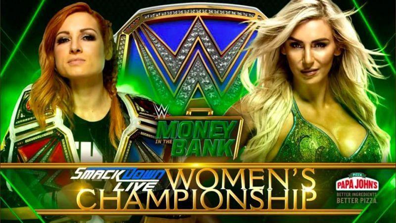 Becky vs Charlotte