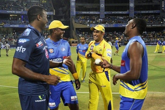 Former MI players Smith and Bravo had successful stints with CSK (picture courtesy: BCCI/iplt20.com)