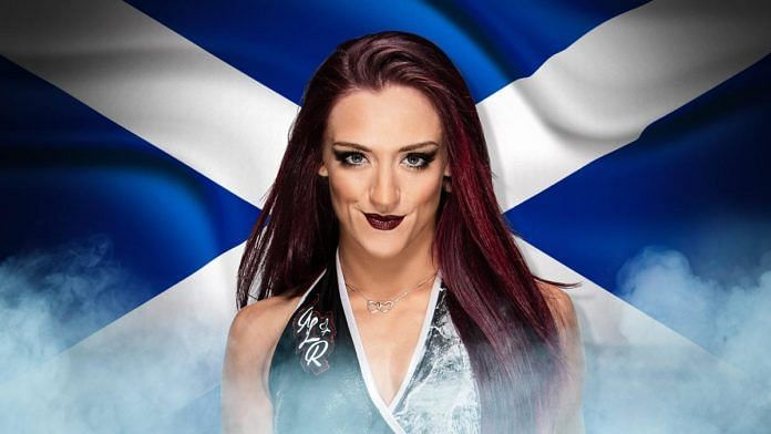 Kay Lee represented Scotland in the MYC