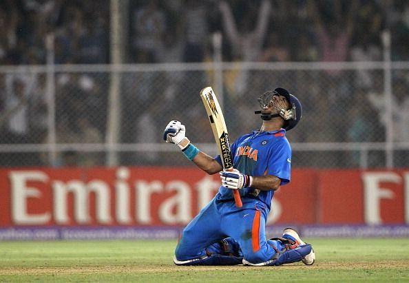 Yuvraj Singh took India home in a memorable encounter at Ahmedabad