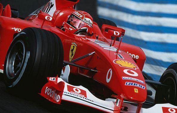 Michael Schumacher drove some of the best Ferrari Formula 1 cars.