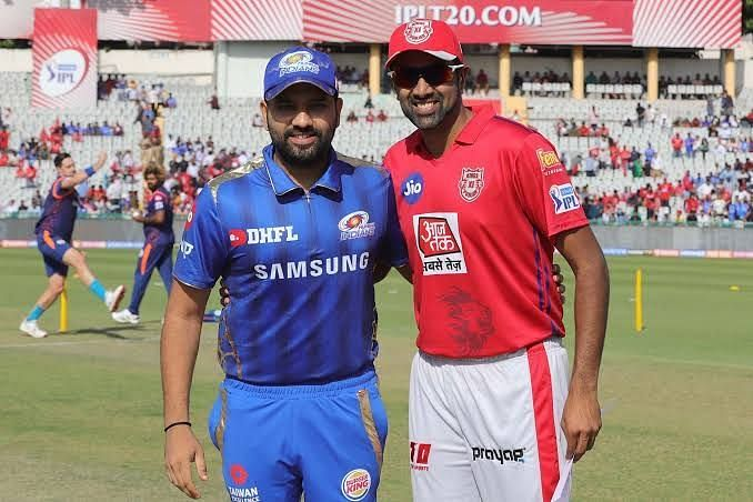 MI Captain Rohit & KXIP Captain Ashwin. Chris Gayle Vs Jasprit Bumrah.