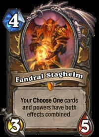 Image result for fandral hearthstone
