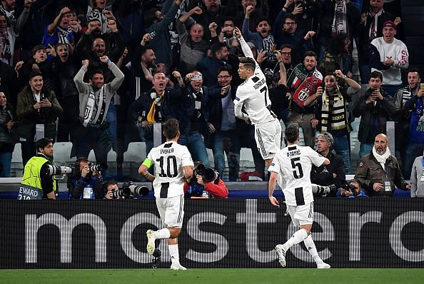 Despite being 34, Cristiano Ronaldo continues to play at the highest level