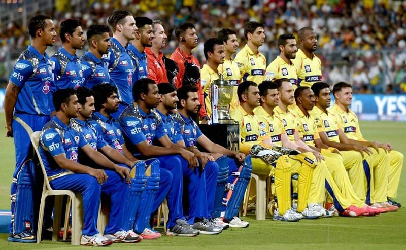 Mumbai Indians And Chennai Super Kings