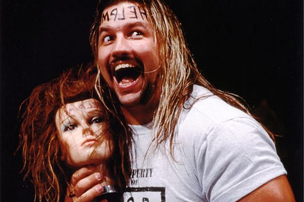 Al Snow may be best remembered for talking to Head