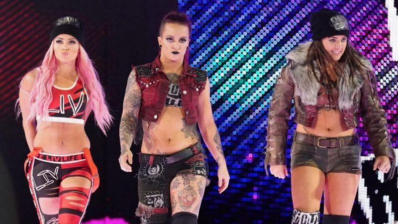 Why did WWE break up this group in The Superstar shakeup?