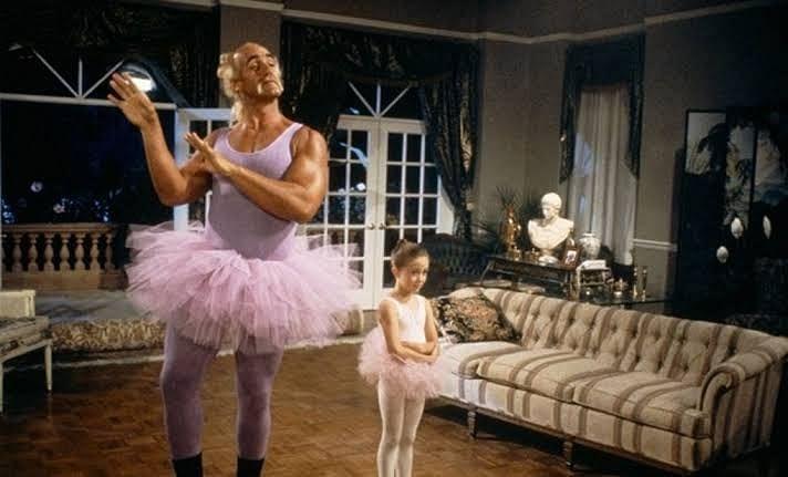 Hogan in Mr. Nanny!